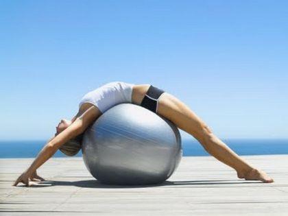 Фитбол для беременных — упражнения в картинках